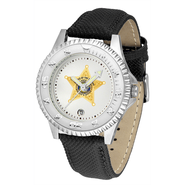 Highlands Sheriff Competitor Mens Leather Watch