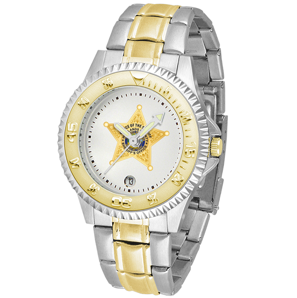 Highlands Sheriff Competitor Mens Two-Tone Watch