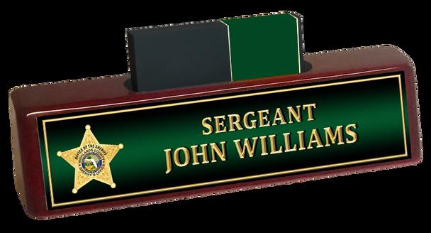 Highlands Sheriff BUSINESS CARD HOLDER