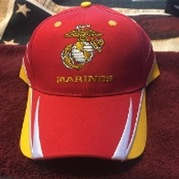 U. S. Marine Corps Military Official Hat Semper Fi EGA