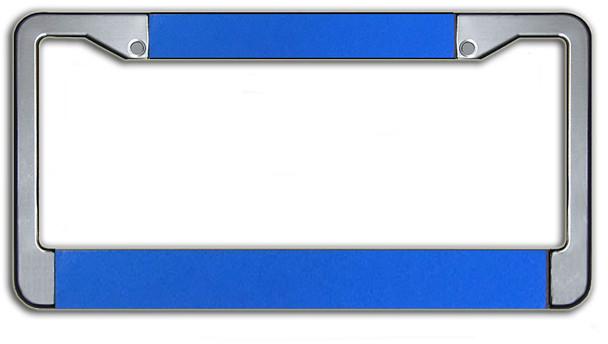 Customizable License Plate Frame