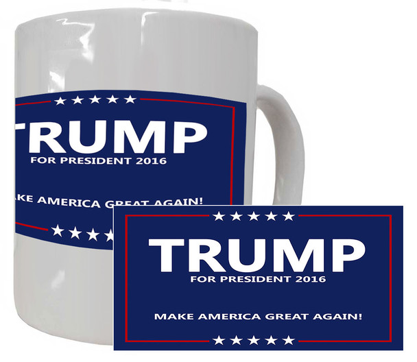 Trump 2016 Make America Great Again Mug