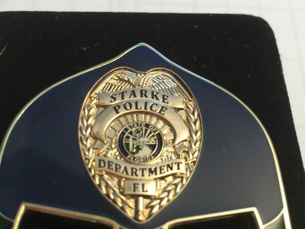 STARKE POLICE FL WARRIOR  BLUE FACE COIN