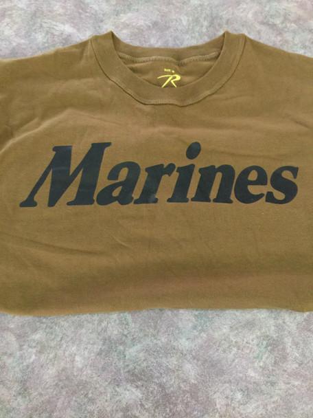U. S. MARINE CORPS COYOTE  T-Shirt OFFICAL ITEM