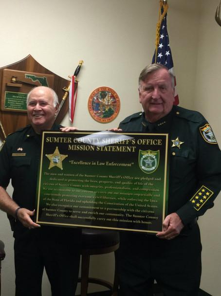 Chief Wayne & Sumter Cty Sheriff Bill Farmer