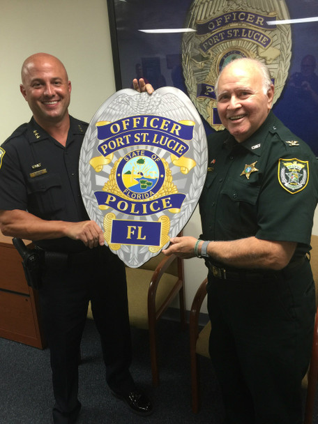 Port Saint Lucie Police Assistant Chief DelToro