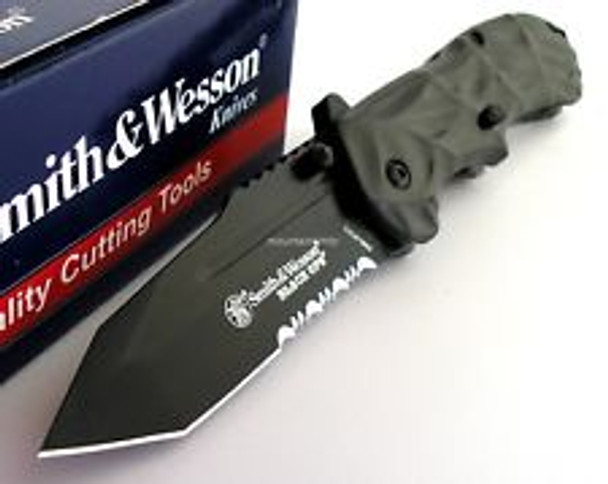 SMITH & WESSON BLACK OPS KNIFE SPRING ASSISTED