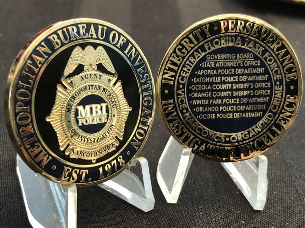 METRO BUREAU OF INVESTIGATIONS FL TASK FORCE 1978