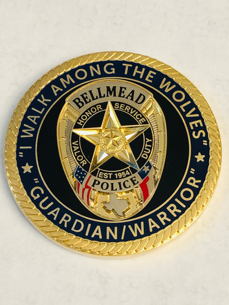 BELLMEAD POLICE COIN