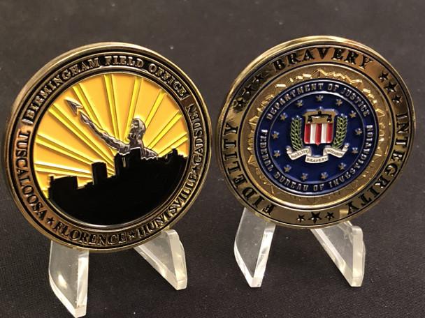 FBI BIRMINGHAM COIN