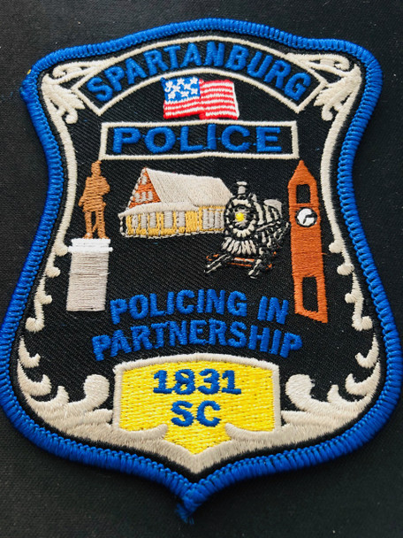SPARTANBURG POLICE SC PATCH