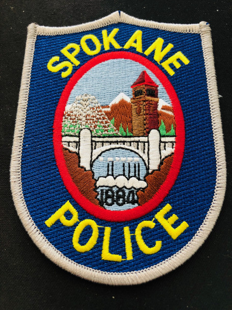 SPOKANE WA POLICE  PATCH