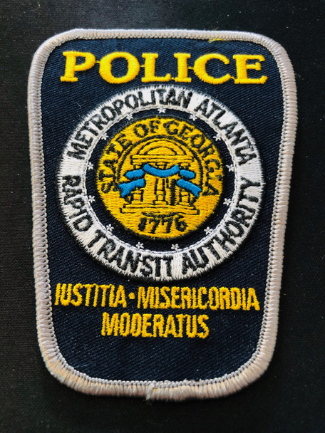 MARTA ATLANTA GA POLICE PATCH
