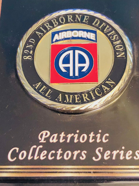 ARMY  82ND AIRBORNE COIN
