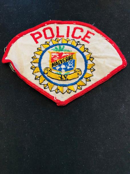 MALVERNE POLICE PATCH RARE