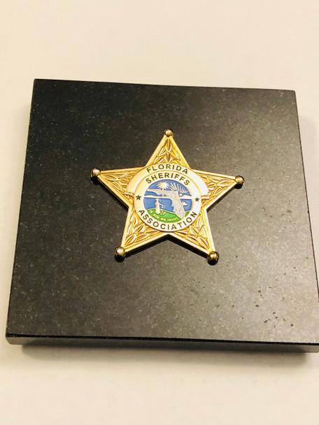 FLORIDA SHERIFFS ASSOC. PAPERWEIGHT