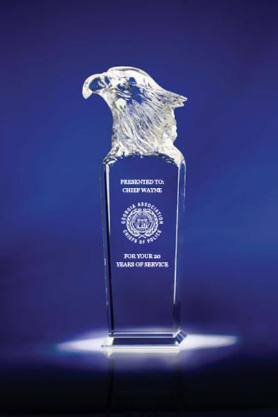 Sky Master Optic Crystal Award 8