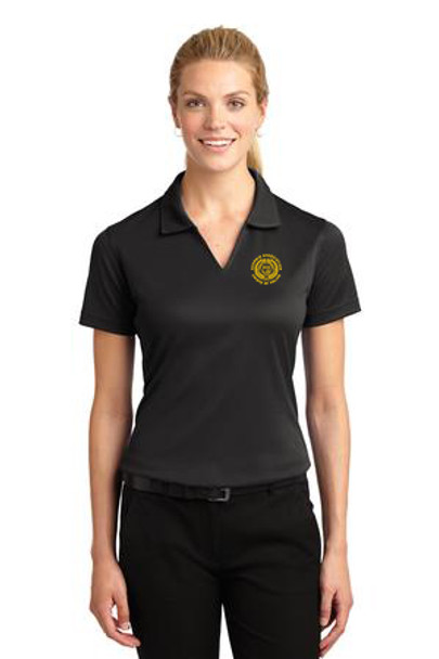 Sport-Tek Ladies Dri-Mesh V-Neck Polo GACP