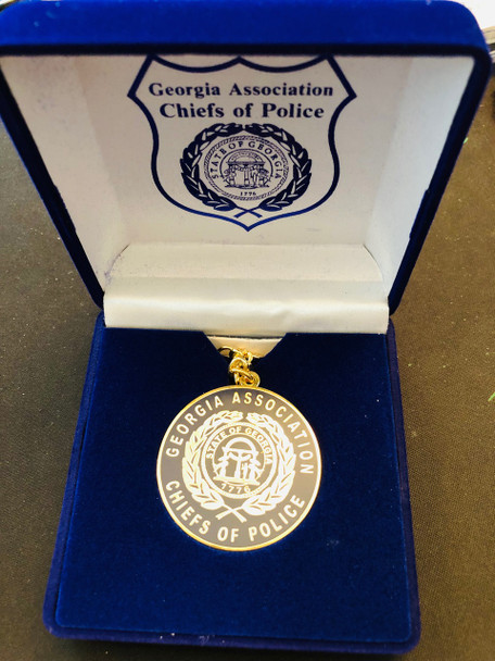 GEORGIA POLICE CHIEFS KEY TAG