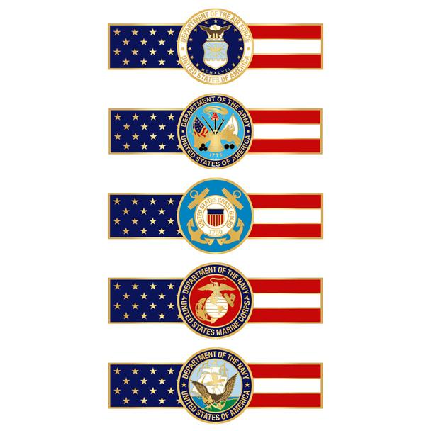 Military Award Bar Pins