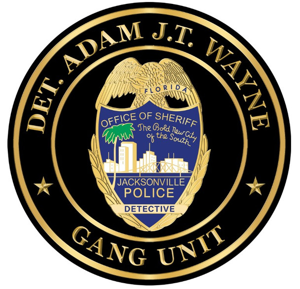 JSO PERSONALIZED SEAL PLAQUE