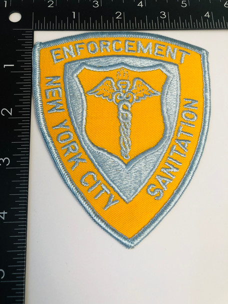 NEW YORK CITY SANITATION ENFORCEMENT PATCH