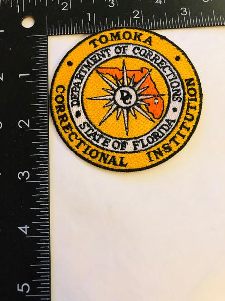 TOMOKA  FLORIDA CORRECTIONAL INSTITUTION PATCH