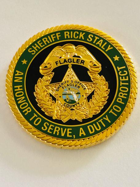 FLAGLER CTTY SHERIFFS OFFICE SHERIFF STALY