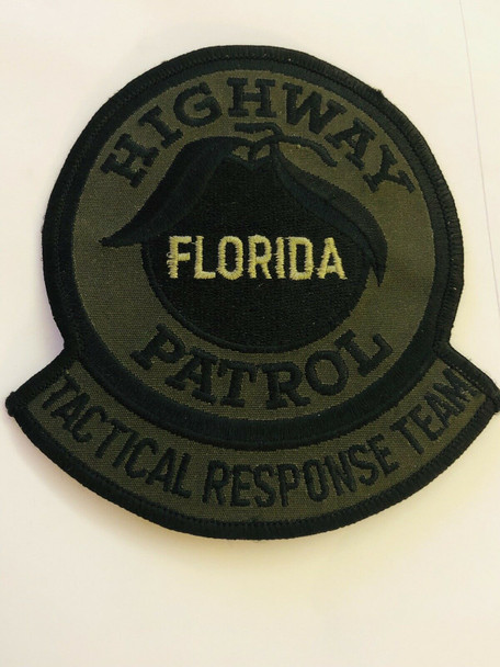 FLORIDA HIGHWAY PATROL TACTICAL RESPONSE TEAM PATCH