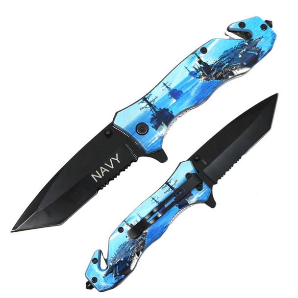 US NAVY  Assisted Knife •