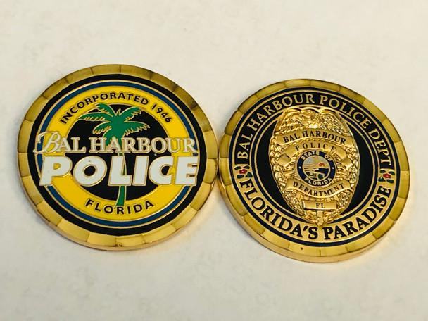 BAL HARBOR POLICE FLORIDA COIN