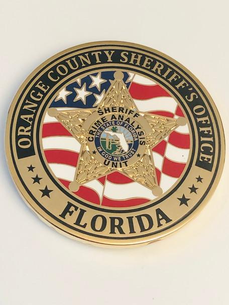 ORANGE CTY SHERIFF FLORIDA CRIME ANALYSIS COIN