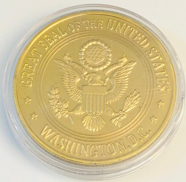 DONALD J. TRUMP PRESIDENT COIN