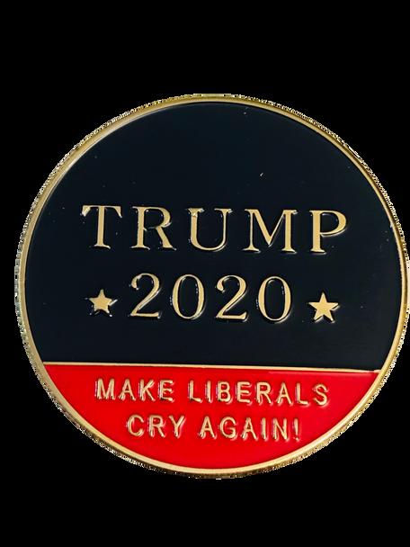 TRUMP 2020  MAKE THEM CRY AGAIN COIN