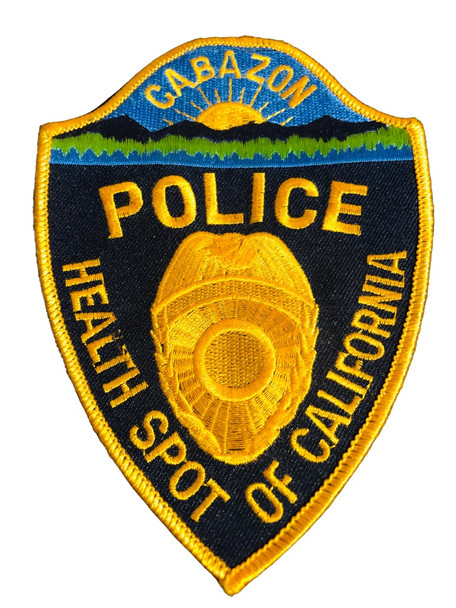 CABAZON CA POLICE PATCH