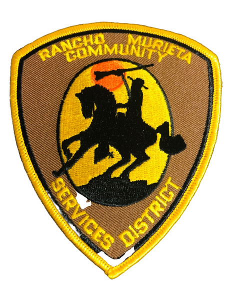 RANCHO DISTRICT POLICE PATCH