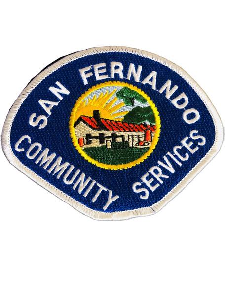 SAN FERNANDO CA POLICE PATCH