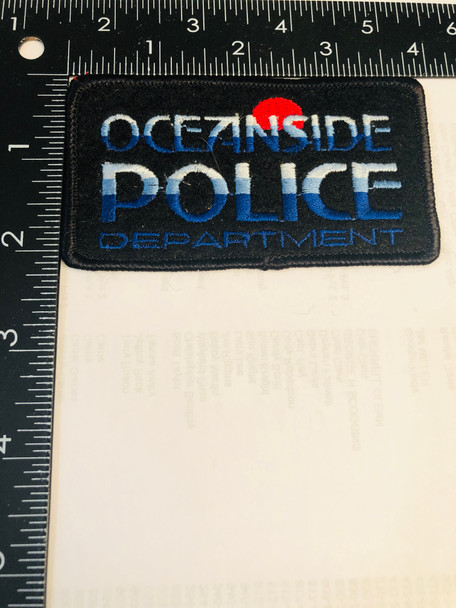 OCEANSIDE POLICE CA PATCH