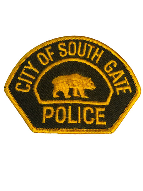 SOUTH GATE POLICE CA  PATCH RIGHT