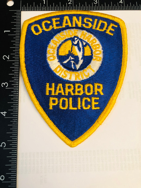 OCEANSIDE HARBOR POLICE CA PATCH