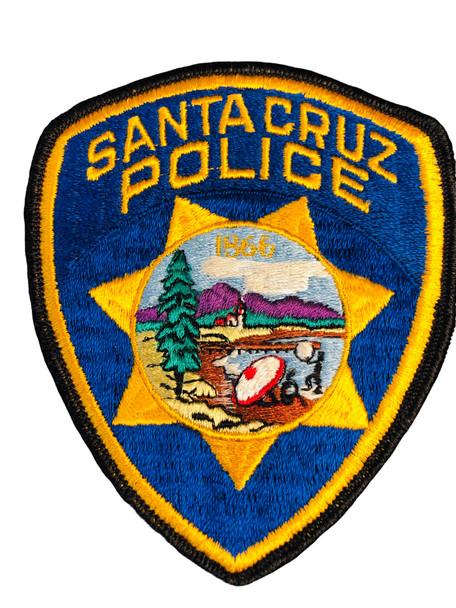 SANTA CRUZ POLICE CA RANGER PATCH