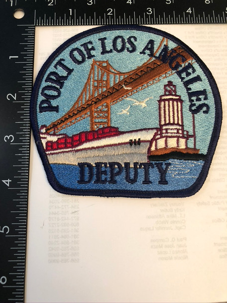 PORT OF LOS ANGELES DEPUTY PATCH