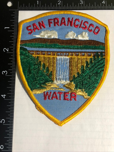 SAN FRANCISCO CA WATER PATCH