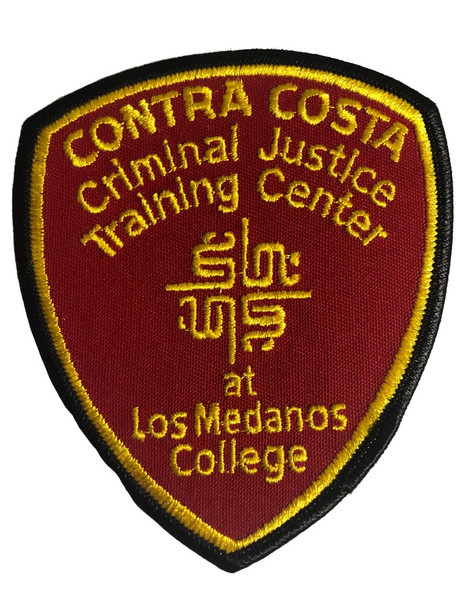 CONTRA COSTA CRIMINAL  TRAINING CENTER CA PATCH