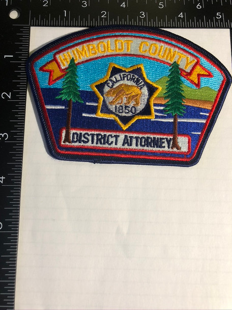 HUMBOLDT CTY CA DISTRICT ATTORNEY PATCH