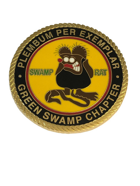 GREEN SWAMP RIDERS COIN