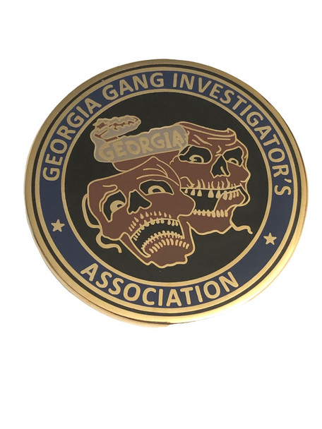 GEORGIA GANG INVESTIGATOR'S ASSOC COIN