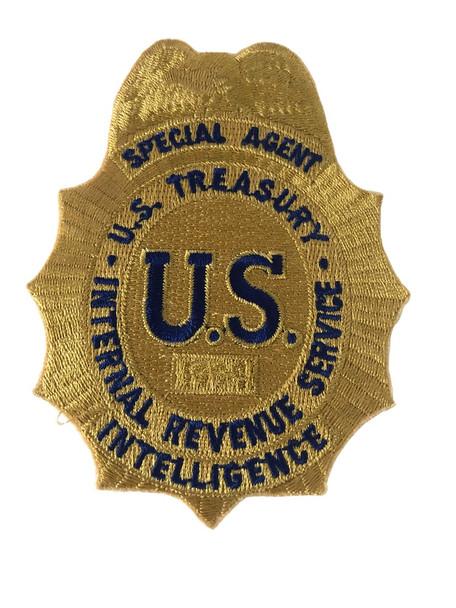 TREASURY IRS INTELLIGENCE POLICE PATCH