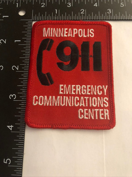 MINNEAPOLIS 911 CENTER POLICE PATCH