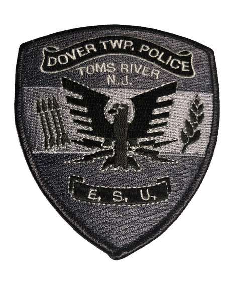 Dover New Jersey Police Patch FREE SHIPPING!